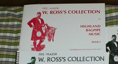 ROSS COLLECTION of Great Highland Bagpipe Music Tunes pipes volume 1