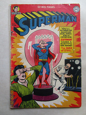 Superman # 68 - First Luthor Cover This Title