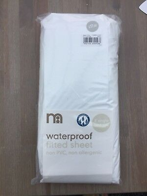 Mothercare Waterproof Fitted Sheet (3' Single Bed Size)