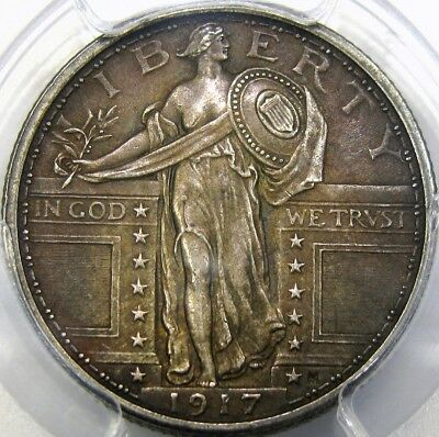 1917 25C Type 1 Pcgs Au55 Standing Liberty Quarter ~ Exceptional Original Piece!