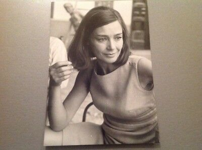 EMMANUELLE RIVA - PHOTO DE PRESSE ORIGINALE 13x18cm