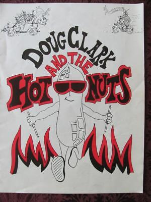 Doug Clark & The Hot Nuts Outrageous US Rock Band Frat Party Boys Music Brochure