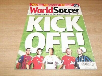 Football Magazine World Soccer August 2011 New Season Guide Isle of Wight Ajax
