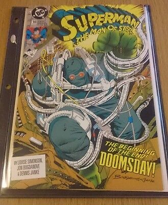 Superman The Man of Steel #18 & #19 Doomsday
