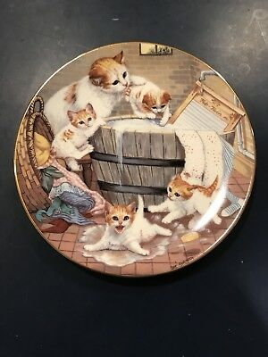 All Washed Up - Gre Gerardi - Hamilton Plate 1988 Cats