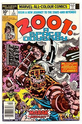 2001 A Space Odyssey  V1#3    Fn- / Vg+  1977   American  Marvell  19