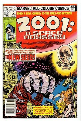 2001 A Space Odyssey  V1#7    Fn- / Vg+  1977   American  Marvell  19