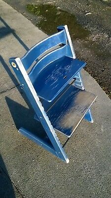 Stokke Tripp Trapp High Chair • Blue • Used.