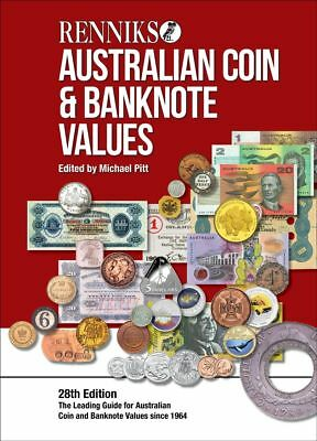 NEW 2018 Renniks AUSTRALIAN Coin & Banknote Values Guide 28th Edition FREE POST!