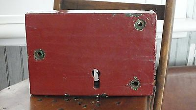 Old Victorian Wooden Door Lock Architectural Painted If Only It Could Talk