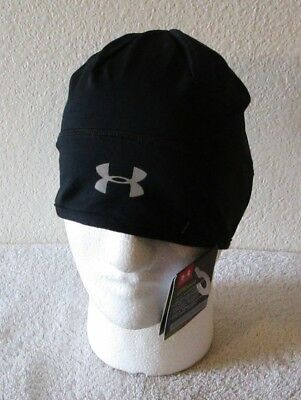 7fe8bb68d NWT UNDER ARMOUR Cold Gear Infrared Storm Beanie Hat Womens One Size ...