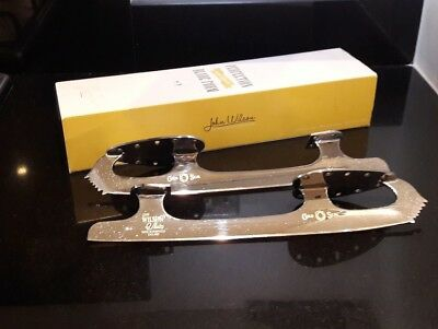 John Wilson Gold Seal Woman's Ice Skating Blades size 9 3/4