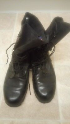 army issued jungle/warm weather boots size 10 wide