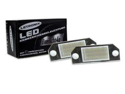 24 SMD LED Kennzeichenbeleuchtung LETRONIX Ford C-Max ab 03 E4
