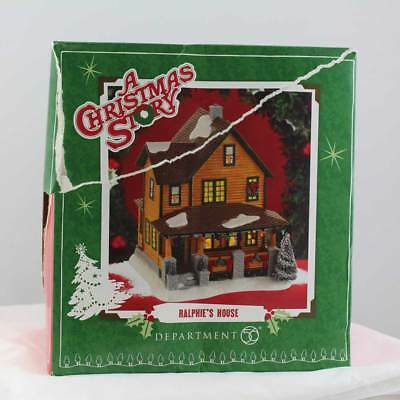 Department 56 A Christmas Story Village Ralphie's House (002)