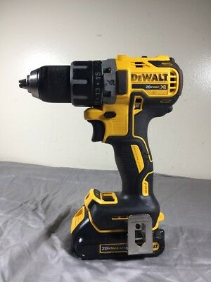 """DeWALT 20v DCD791 1/2"""" Cordless Drill Driver with Battery"""