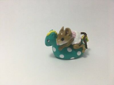 Retired Perfect MINT Condition Spotted Seahorse 1996 Wee Forest Folk SIGNED WFF