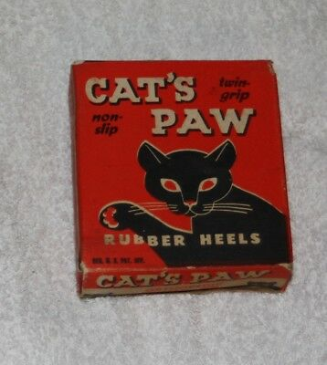 Vintage  Cat's Paw Orthopedic Rubber Heals, Womens size 9