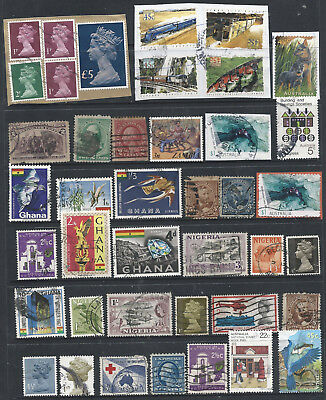 WORLD STAMP COLLECTION on 4 scans. ( AA 1)