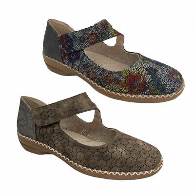 Ladies Shoes Lorella Penny Comfy Work MaryJane style Multi or Taupe Size 6-10