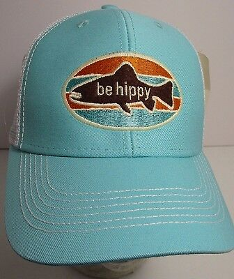 13afae9dbe06c Be Hippy Colorado Hat Cap Youth Trucker Snapback Embroidery aprox size 7-9  New