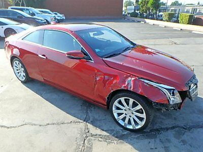 2017 Cadillac ATS 2.0L Luxury 2017 Cadillac ATS 2.0L Luxury Salvage Wrecked Repairable! Priced To Sell! L@@k!!