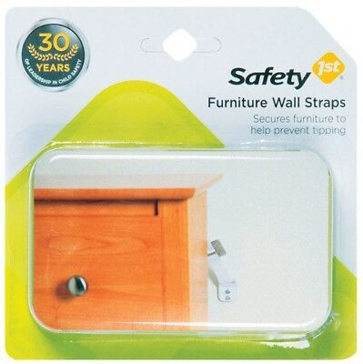 Safety 1st Furniture Wall Straps - 2 Count