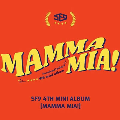 SF9 [MAMMA MIA!] 4th Mini Album CD+Photo Book+Cover+TicketCard+Card K-POP SEALED