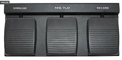 FP-7000/D Foot Pedal For OLYMPUS DS-5000 & DS-7000  Recorder W/ Download Pedal
