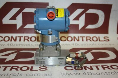 Rosemount 3051CG4A06B1BE7S5Q4-0305RC23B21 Gage Pressure Transmitter - New No Box