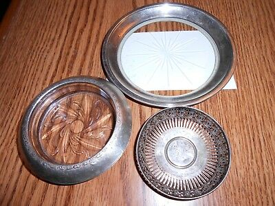 Estate Antique Sterling Silver Junk Drawer Lot Dish Ashtray 925 .925 Candy Old
