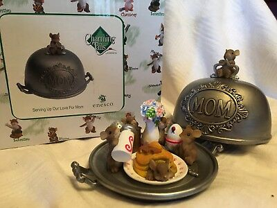 "Charming Tails ""SERVING UP OUR LOVE FOR MOM"" DEAN GRIFF NIB"