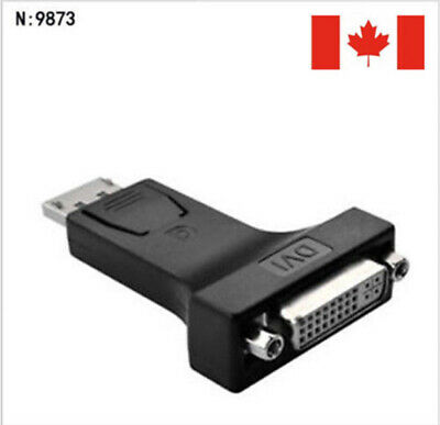 Displayport DP Display Port Male To DVI-I 24+5 Female Adapter Converter