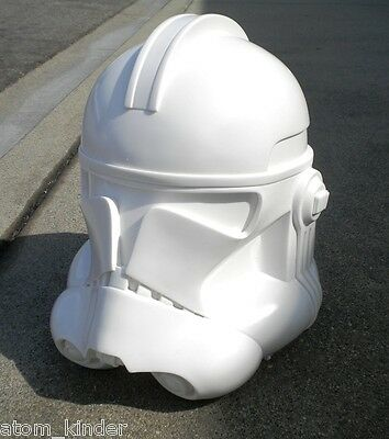 Star Wars 1:1 Scale Phase 2 CLONE TROOPER Resin Helmet The Last Jedi