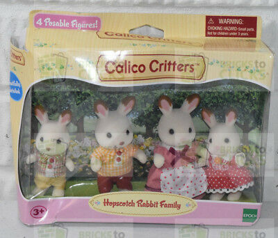 Calico Critters Hopscotch Rabbit Family (New, but Damaged Packaging) #2