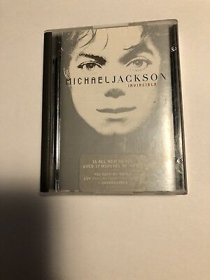 "Michael Jackson ""Invincible"" Minidisc MD MJ King Of Pop Mini Disc RARE"