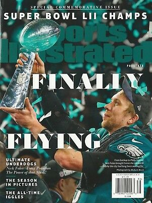 Sports Illustrated Finally Flying Super Bowl LII Champs Philadelphia Eagles NM