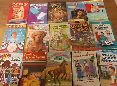 Lot of 60 Chapter Scholastic Disney RL 2 3 4 5 Child Books AR MIX UNSORTED #G24