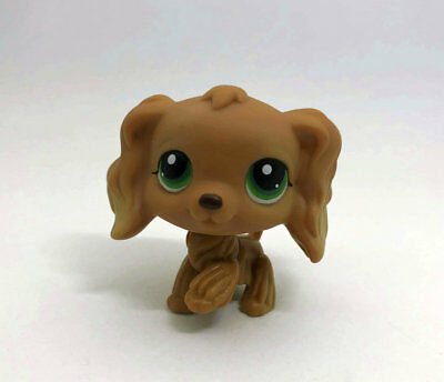Cute Littlest Pet Dog Spaniel child girl boy figure loose Animal LPS46