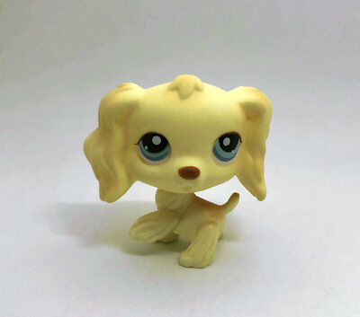 Cute Littlest Pet Dog Spaniel child girl boy figure loose Animal LPS56
