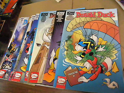 IDW 2015 12 recent issues DONALD DUCK #3 to #19 reg $48.00 qq