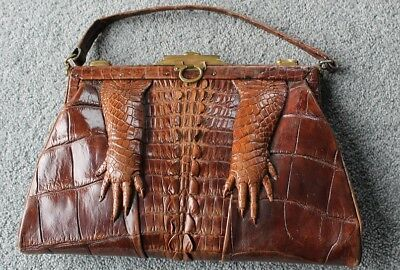 Antique alligator handbag -REDUCED