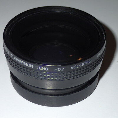 Sony VCL-R0752 52mm, x0.7 wide angle converter for video camera