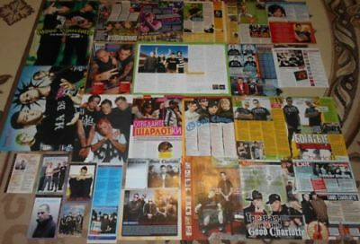 Good Charlotte Benji Madden - Magazine Posters & Clippings BIG Collection