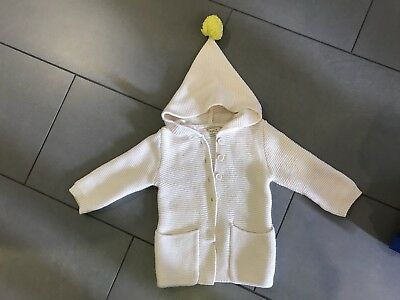 Wilson and frenchy Oatmeal Knitted Jacket With Hoodie