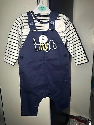 Next baby boy clothes 3-6 months new with tags