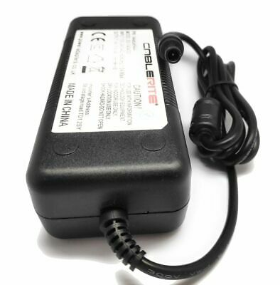 """14v Samsung T24E310EX 24"""" tv ac/dc power supply cable adaptor and mains lead"""