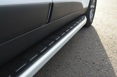 Aluminium Side Steps Bars Running Boards To Fit Porsche Cayenne (2003-11)