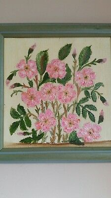 Small oil painting - flowers