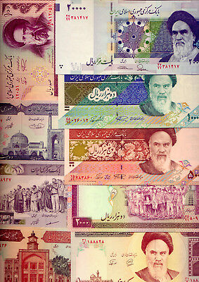 Middle East: 9  Lovely  & Scarce   Unc Banknotes    Low Reserve